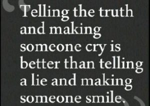 truth against lies