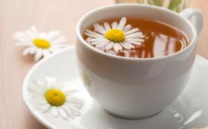 daisy and tea